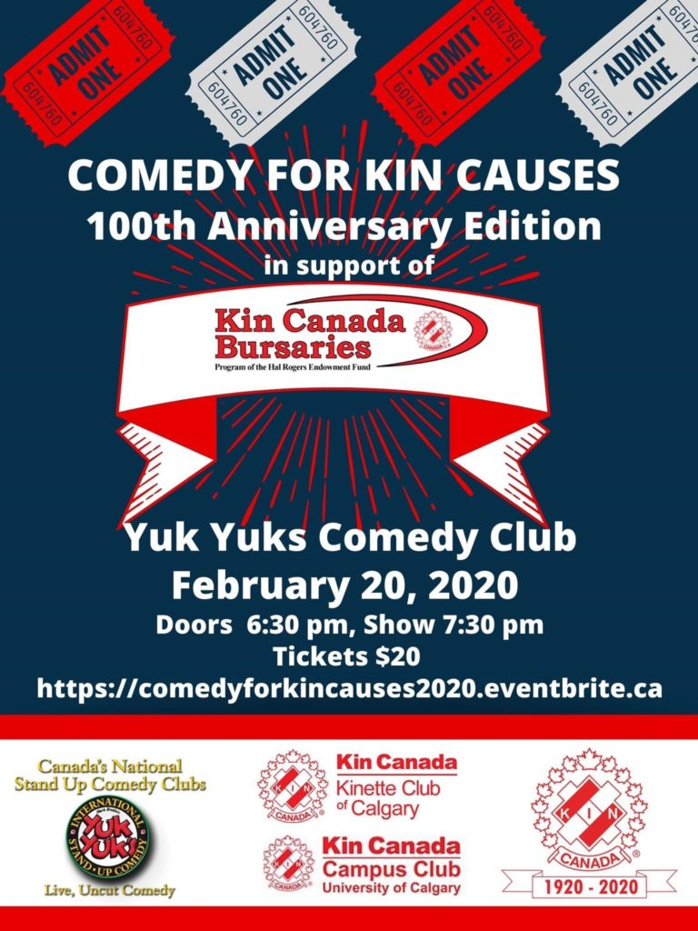 Comedy for KIN Causes FUNdraiser